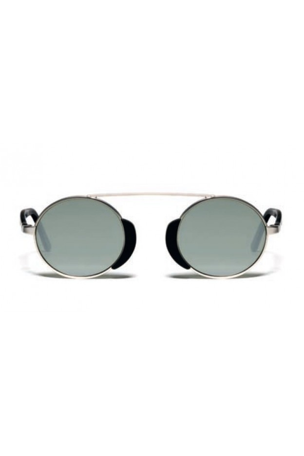 L.G.R. Occhiali Togo Silver Matt 00 / Flat Silver Mirror
