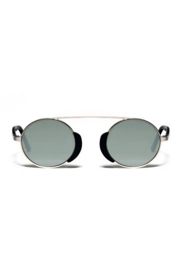 L.G.R. Togo Sunblasses Silver Matt 00 / Flat Silver Mirror