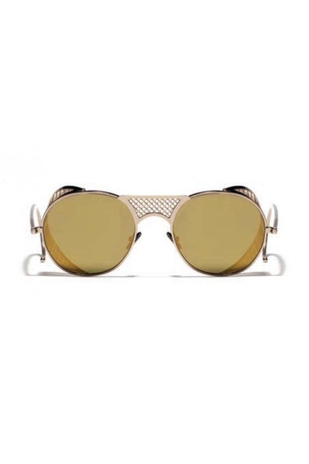 L.G.R. Lawrence Sunblasses Gold 03 / Flat Gold Mirror