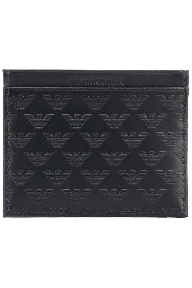 Emporio Armani Credit card holder with logo YEM320YC04380001 - New collection 2018