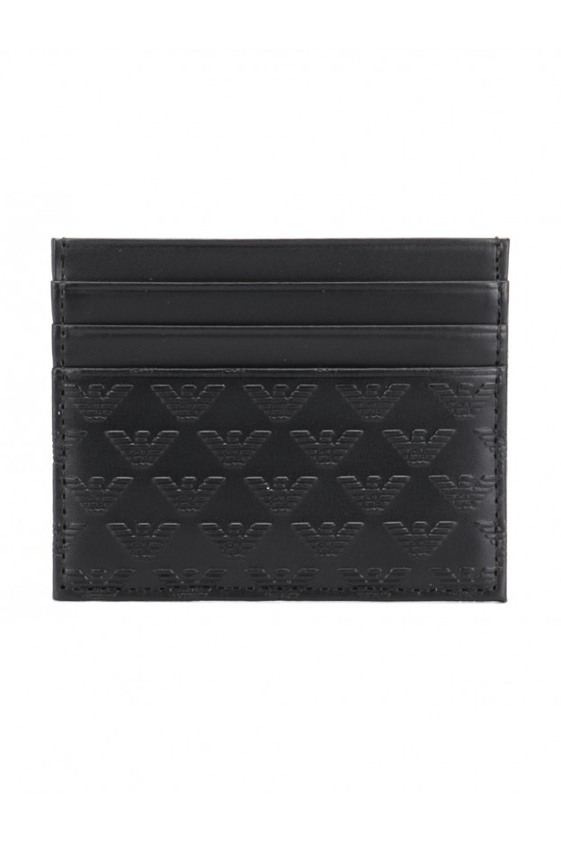 Emporio Armani Credit card holder with logo