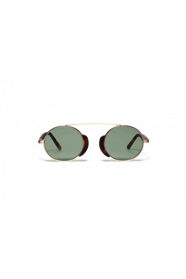 L.G.R TOGO Gold Matt / Havana Maculato Matt 39 // Flat Green g15