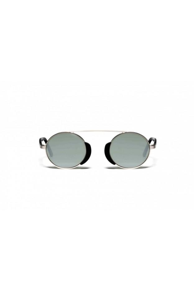 L.G.R TOGO Silver Matt 00 / Black Matt // Flat Silver Mirror
