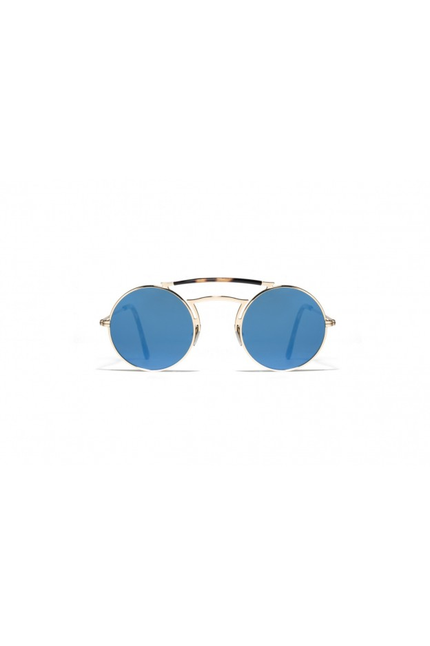 L.G.R SCARAB Gold 00 // Blue Mirror Polarized 2708 - New Collection 2018