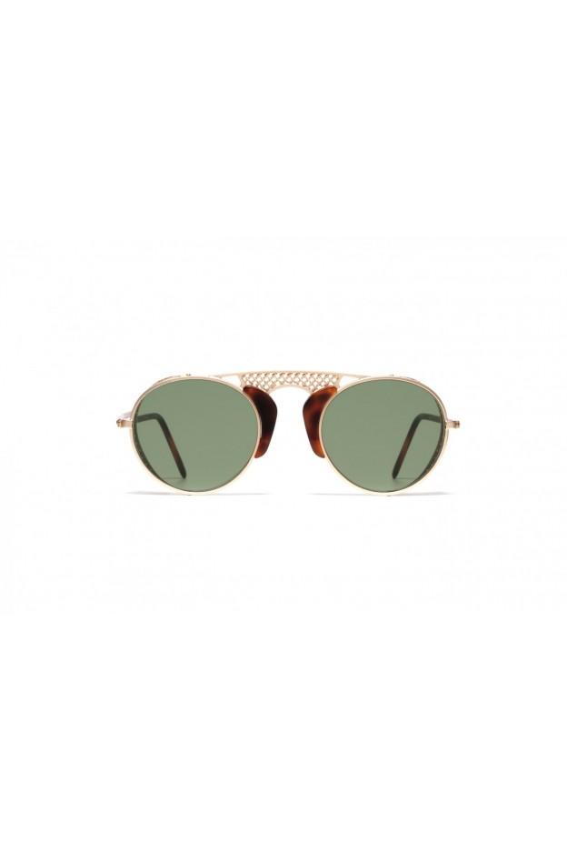 L.G.R ALBATROS Gold Matt / Havana Maculato Matt 39 // Flat Green g15