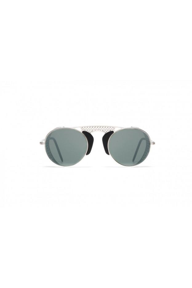 L.G.R ALBATROS Silver Matt 00 / Black // Flat Silver Mirror