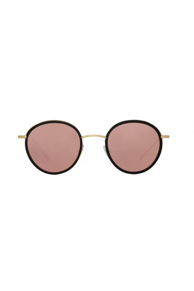 Spektre Morgan Flat Black / Rose Gold Mirror – Flat Lenses