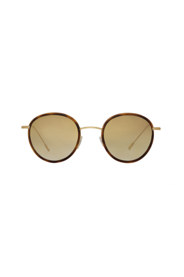 Spektre Morgan Flat Havana / Gradient Gold – Flat Lenses