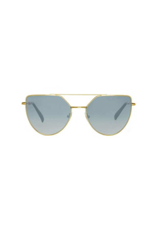Spektr OFF SHORE DOPPIO OSD01AFT Gold Glossy / Gradient Silver – Flat Lenses New Collection 2018
