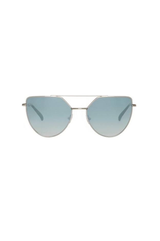 Spektre OFF SHORE DOPPIO OSD04BFT Silver Glossy / Gradient Silver – Flat Lenses New Collection 2018