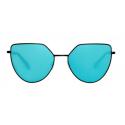 Spektre OFF SHORE 1 Matt Black / Blue Mirror – Flat Lenses OS03AFT - New Collection 2018