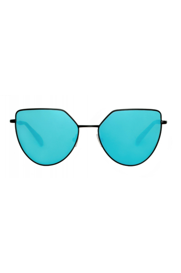Spektre OFF SHORE 1 Matt Black / Blue Mirror – Flat Lenses