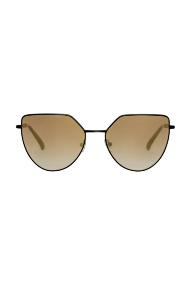 Spektre OFF SHORE 1 Matt Black / Gradient Gold – Flat Lenses