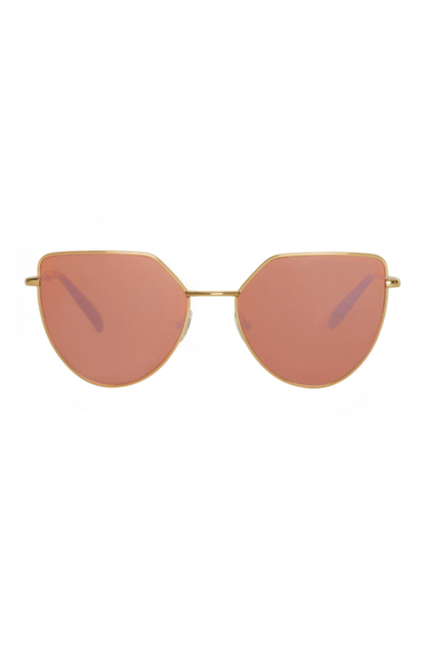 Spektre OFF SHORE 1 Rose Gold Glossy / Rose Gold Mirror – Flat Lenses
