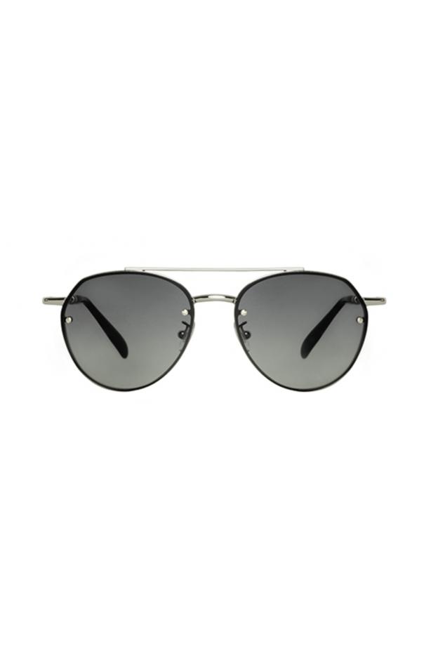 Spektre SORPASSO Silver Glossy / Gradient Smoke – Flat Lenses