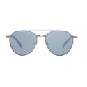 Spektre SORPASSO Silver Glossy / Lilac Mirror – Flat Lenses SP02AFT - Nuova Collezione 2018