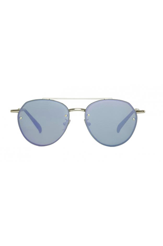 Spektre SORPASSO Silver Glossy / Lilac Mirror – Flat Lenses