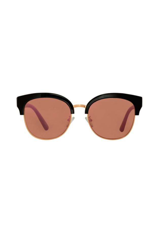 Spektre SKYFALL Black / Rose Gold Mirror – Flat Lenses