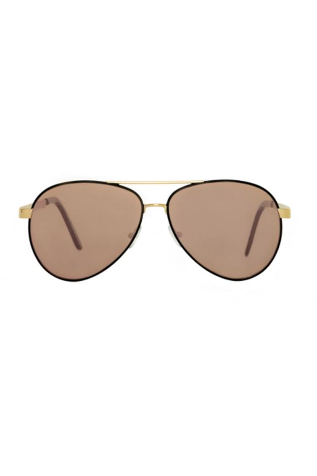 Spektre CHIARA Black – Gold / Rose Gold Mirror – Flat Lenses