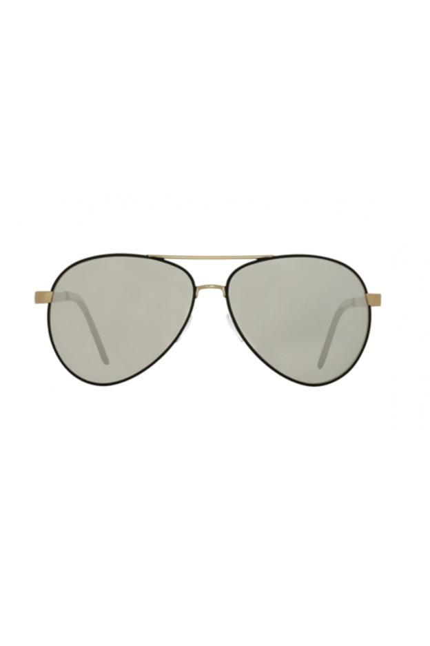 Spektre CHIARA Black – Gold / Silver Mirror – Flat Lenses