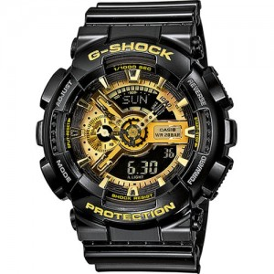G-Shock - Casio GA-110GB-1AER Black Gold - New Collection Spring Summer 2018