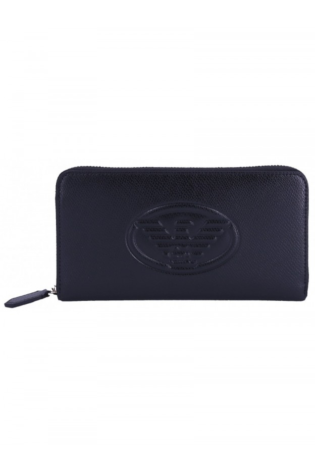 Emporio Armani Wallet Y3H114 YH18A 80001 Black - New Collection Fall Winter 2018 2019