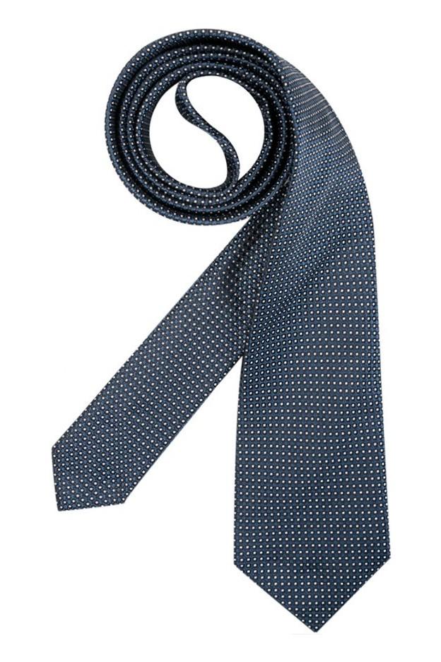 Emporio Armani Cravatta In Seta 340075 8A314 01537 Blu Navy
