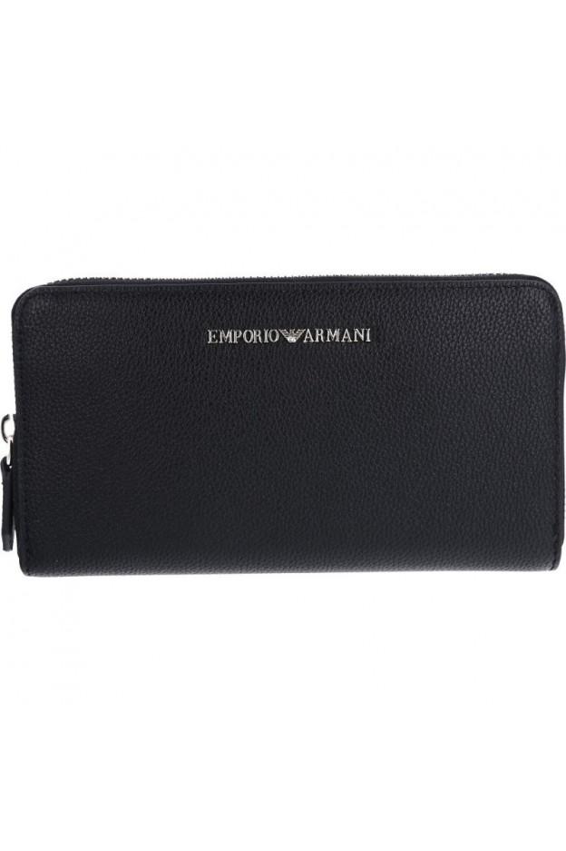Emporio Armani Wallet Y3H114 YH65A 80233 Black - New Collection Fall Winter 2018 2019