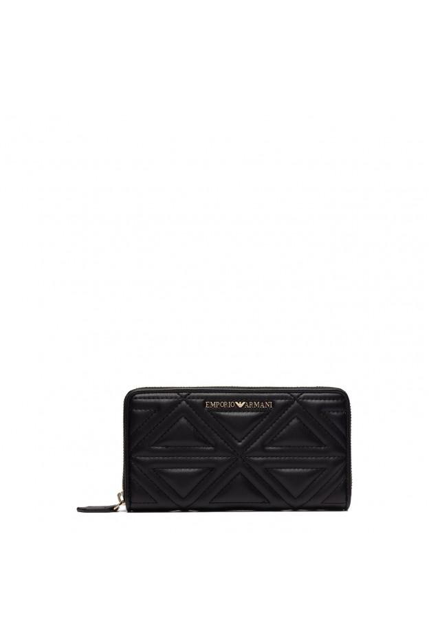 Emporio Armani Wallet Ritspor Temonnee Y3H114 YH60A 80001 Black - New Collection Fall Winter 2018 2019