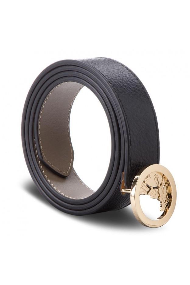 Versace Collection Cintura LCD0276 LALHL L410 85 Nero - Nuova collezione Autunno Inverno 2019