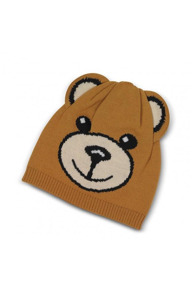 Moschino Teddy Bear Wool Beanie 65114 M1865 003 - New Season Fall Winter 2018 2019