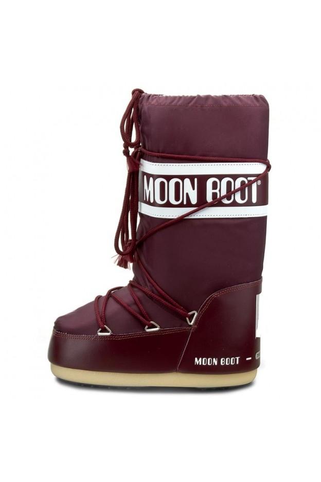 Moon Boot Nylon Burgundy 14004400074 - New Season Fall Winter 2018 2019