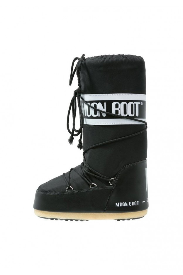 Moon Boot Nylon Black 14004400001 - New Season Fall Winter 2018 2019 9a24a9576e0