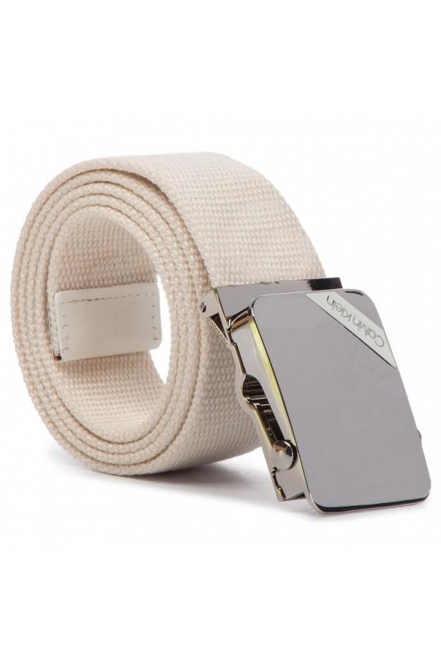 Calvin Klein Cintura da uomo K50K504476 107 - Nuova Collezione Primavera Estate 2019