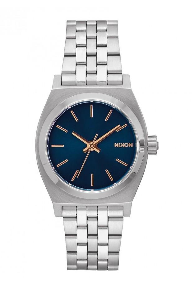 Nixon Medium Time Teller 31 mm A1130-2195-00 Navy / Rose Gold - Nuova Collezione Primavera Estate 2019