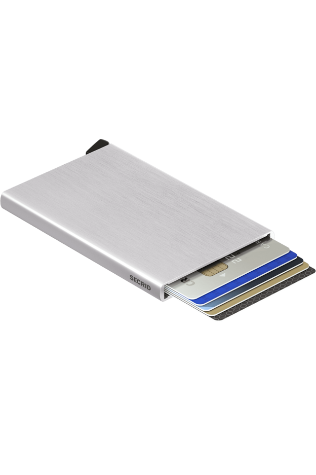 Secrid Cardprotector Brushed Silver - Nuova Collezione Primavera Estate 2019