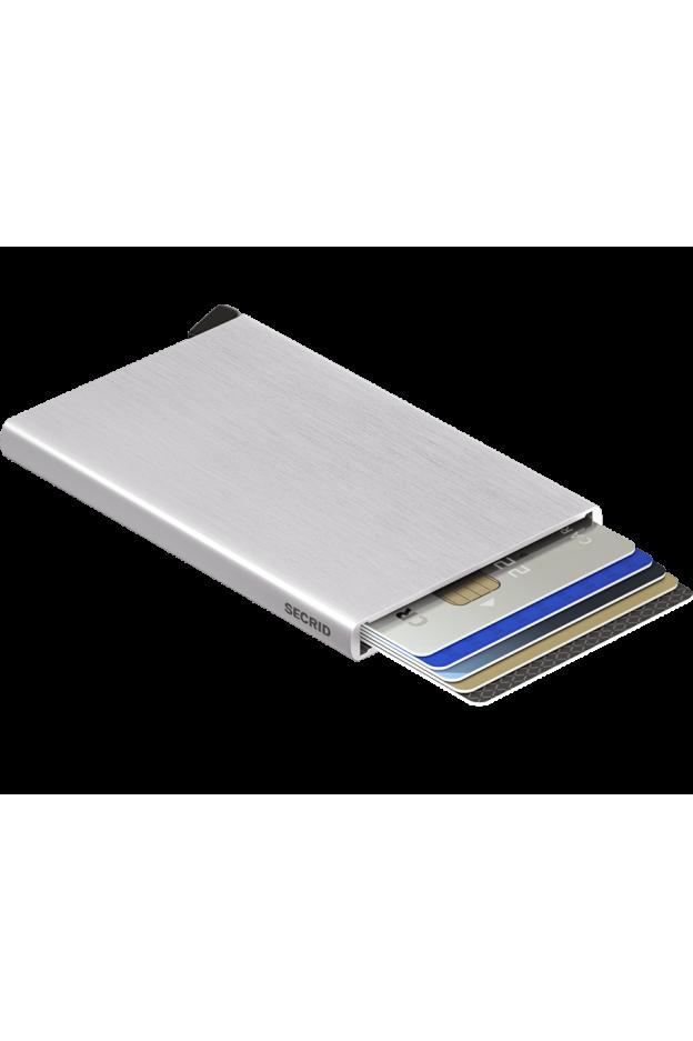 Secrid Cardprotector Brushed Silver - New Season Spring Summer 2019