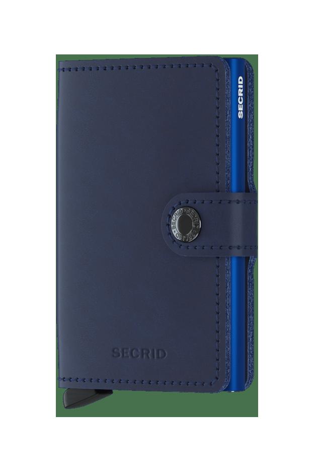 Secrid Miniwallet Original Navy-Blue - Nuova Collezione Primavera Estate 2019