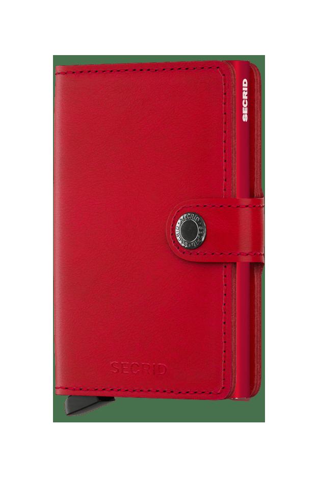 Secrid Miniwallet Original Red-Red - Nuova Collezione Primavera Estate 2019