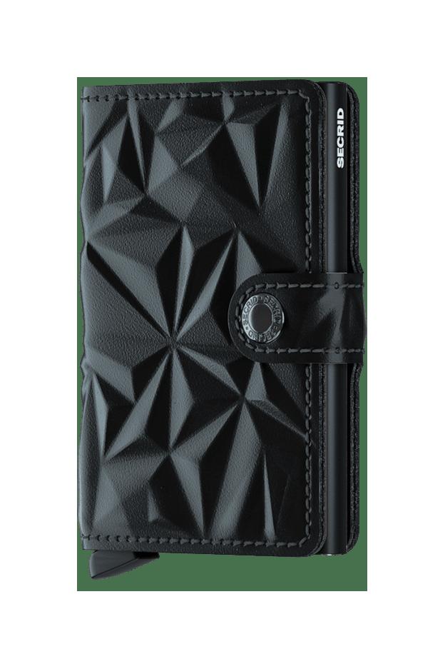 Secrid Miniwallet Prism Black MPR-BLACK - Nuova Collezione Primavera Estate 2019