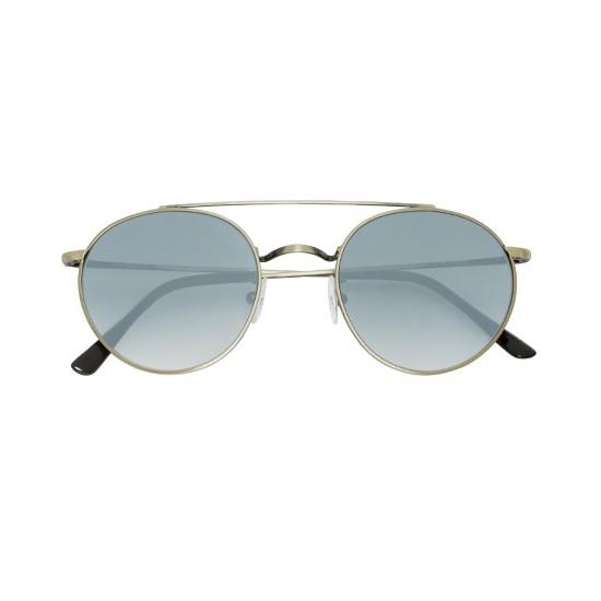 Spektre Caligola Brass / Gradient Silver – Flat Lenses CG01B