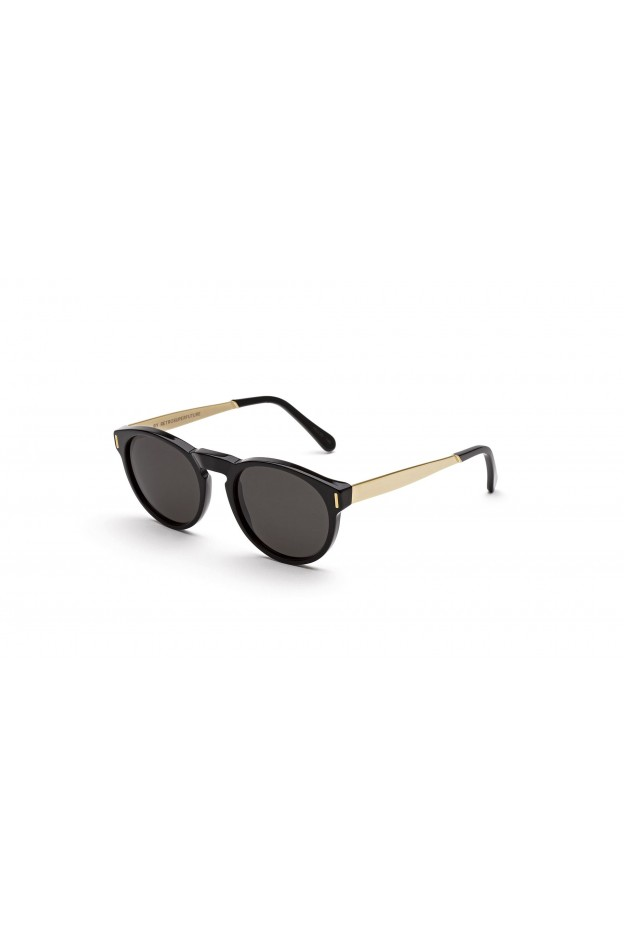 Spektre Sorpasso Gold Glossy / Gradient Silver – Flat Lenses