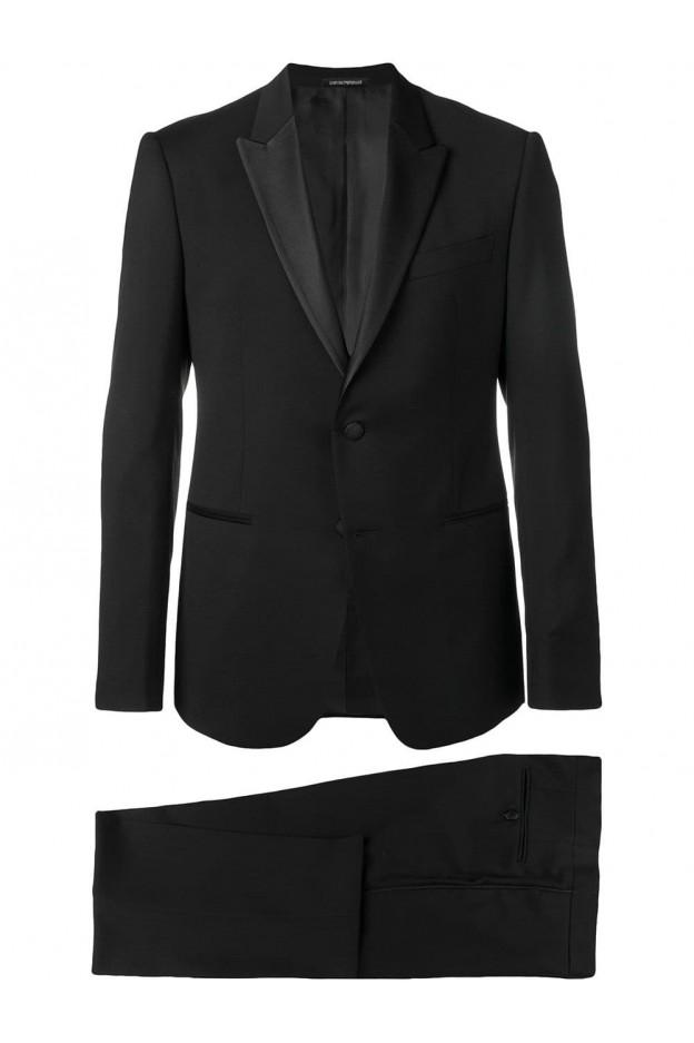 Emporio Armani classic two-piece suit 21VMOP 01503 999 Black - New Season Spring Summer 2019