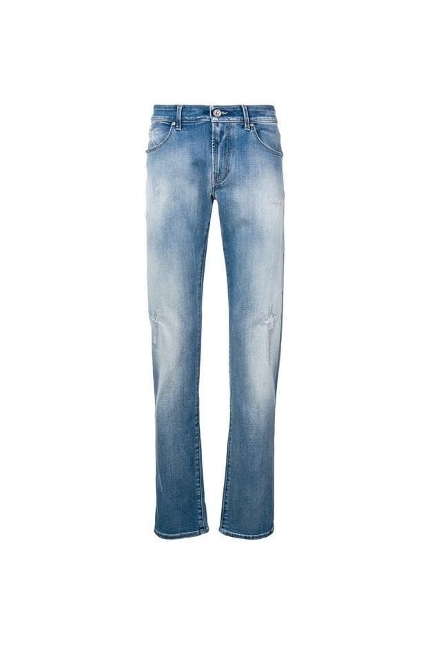 Karl Lagerfeld Jeans slim  strappati KLMP000100495W3-5121 003 Denim - Nuova collezione Primavera Estate 2019