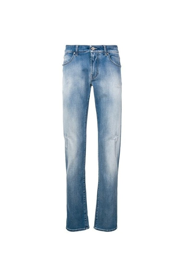 Karl Lagerfeld ripped slim jeans KLMP000100495W3-5121 003 Denim - New Season Spring Summer 2019