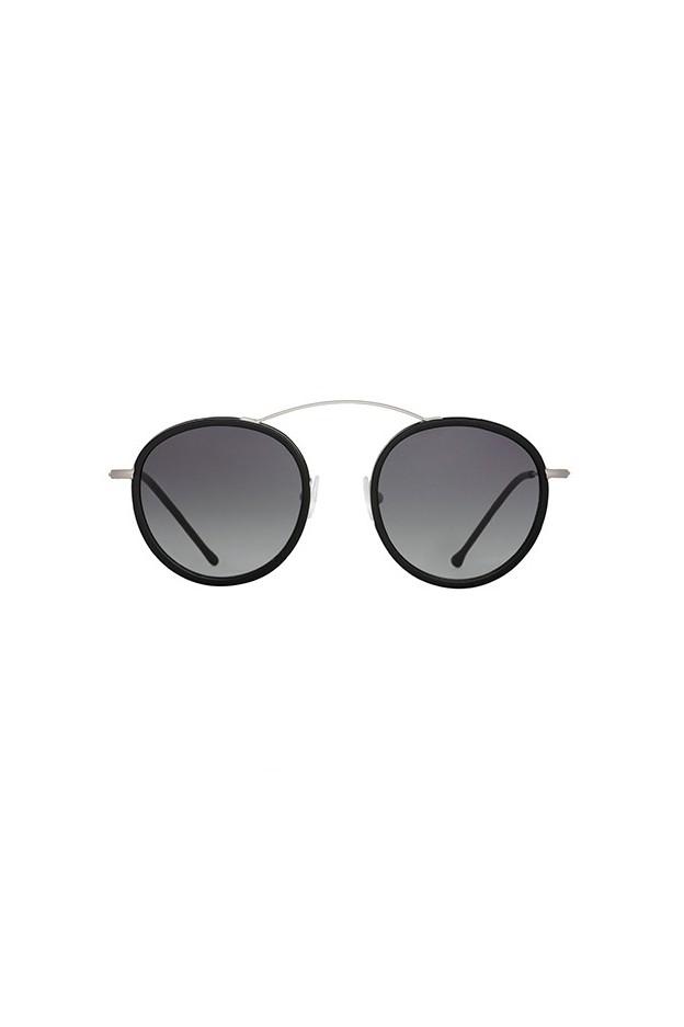 Spektre MET-RO 2 FLAT Silver / Black / Gradient Smoke MR03DFT - New Season Spring Summer 2019