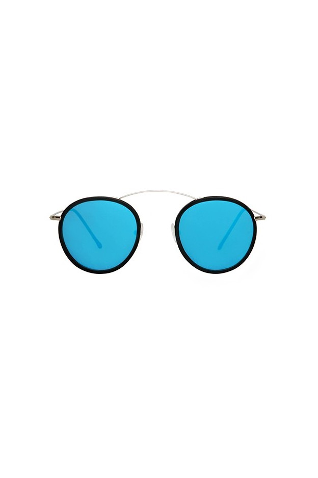 Spektre MET-RO 2 FLAT Silver / Black / Blue Mirror