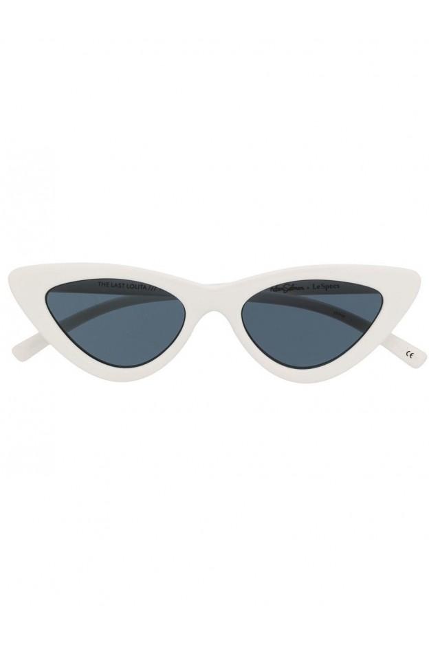 Le Specs Las cat eye sunglasses LAS1702130 White - New Season Spring Summer 2019