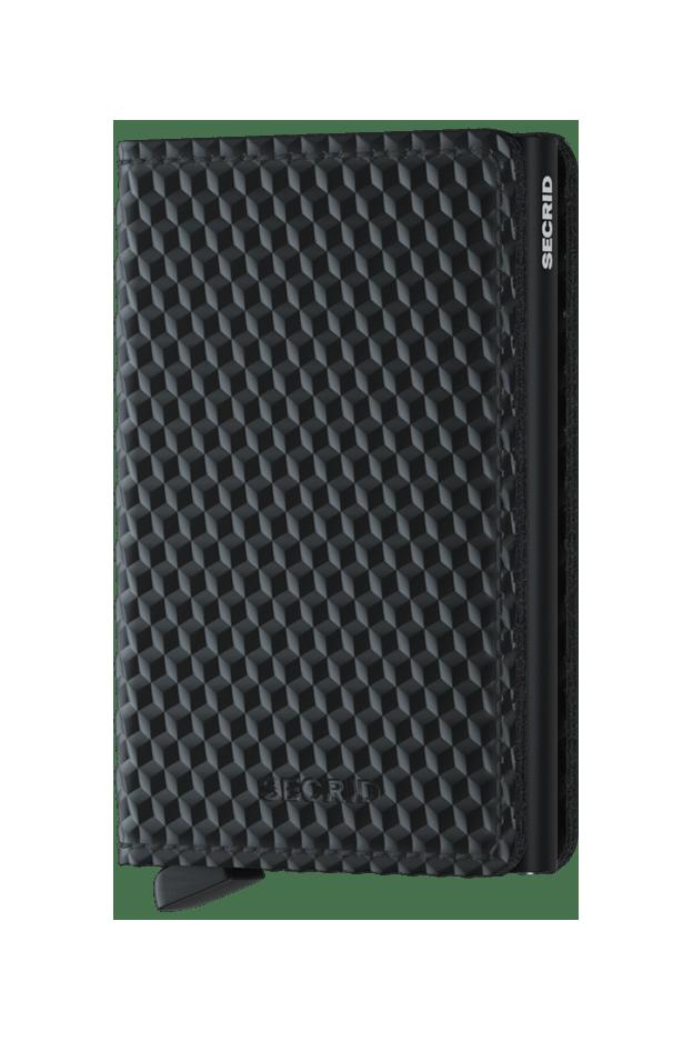 Secrid Slimwallet Cubic Black SCU-BLACK - Nuova collezione Primavera Estate 2019