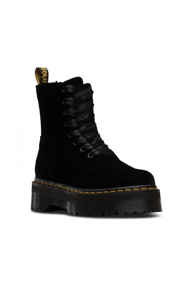 Dr. Martens Jadon Velvet DMSJADBKVL24761001 Black - New Collection Autumn Winter 2019 - 2020